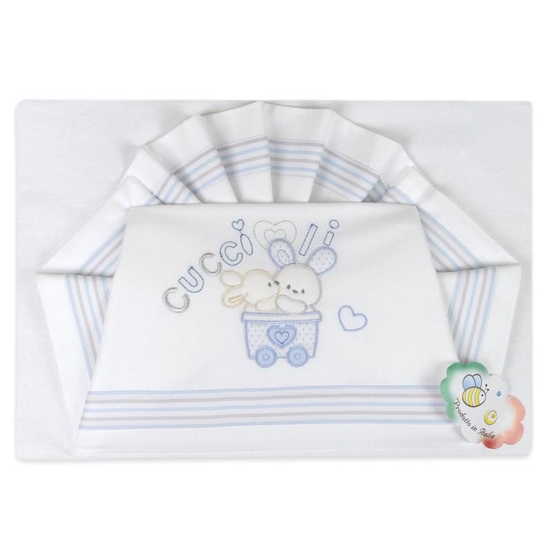 Cradle bed sheet set art. 03137AZ