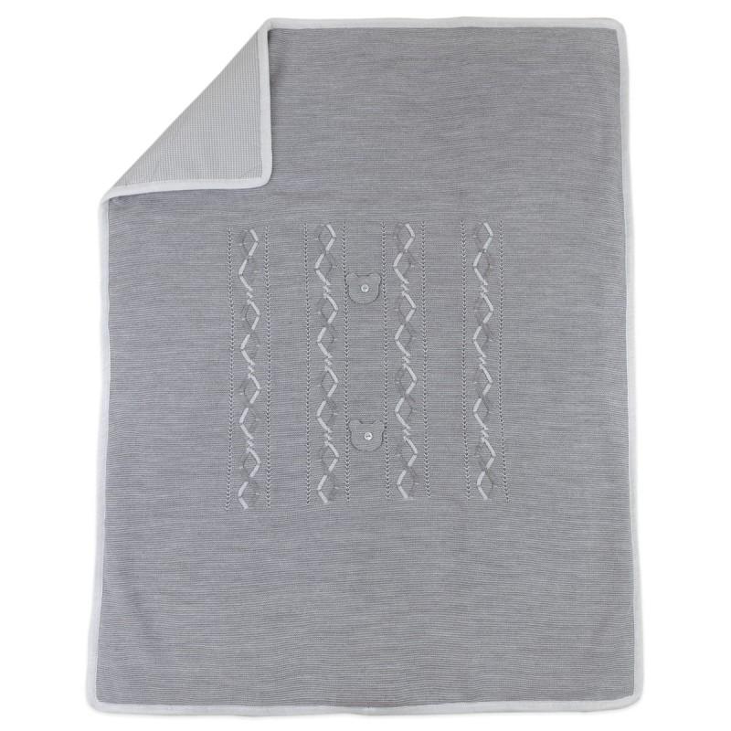 Copertina scialle in misto lana art. AC6880