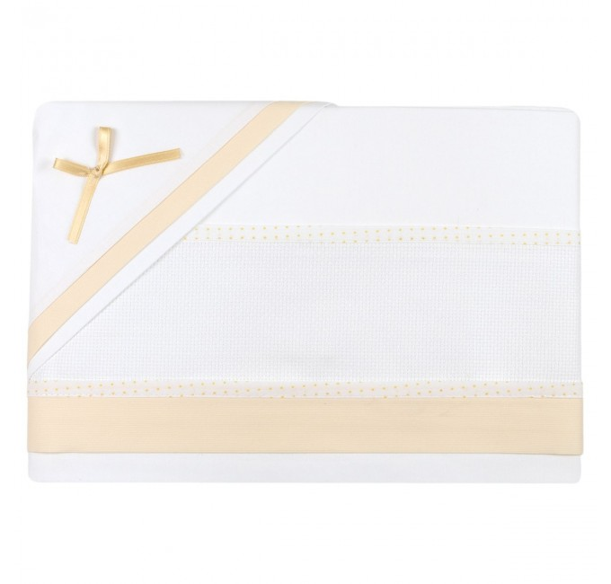 Cot bed sheet set to embroider art. CI1405G