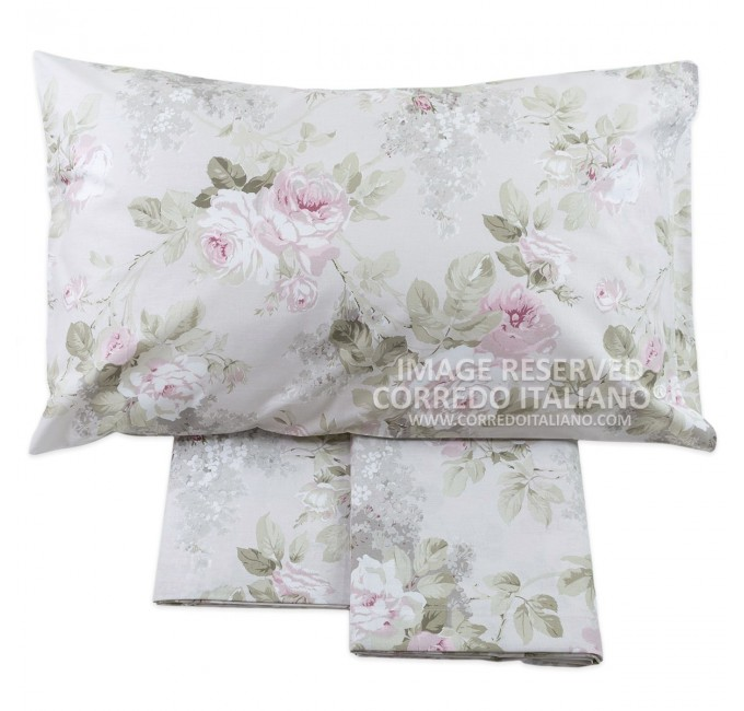 Sofia - flannel double bed sheet maxi size