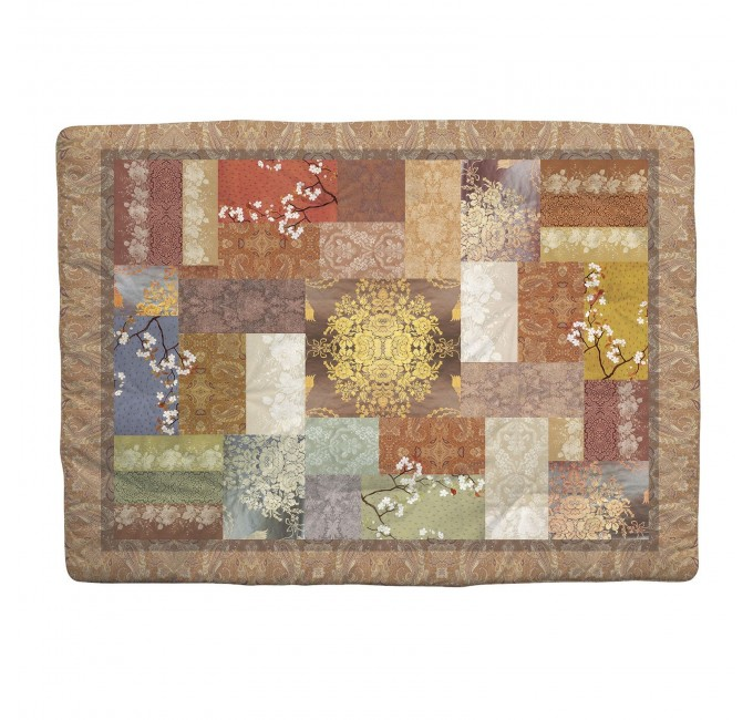 Living - blanket quilted Caleffi 130x170 cm