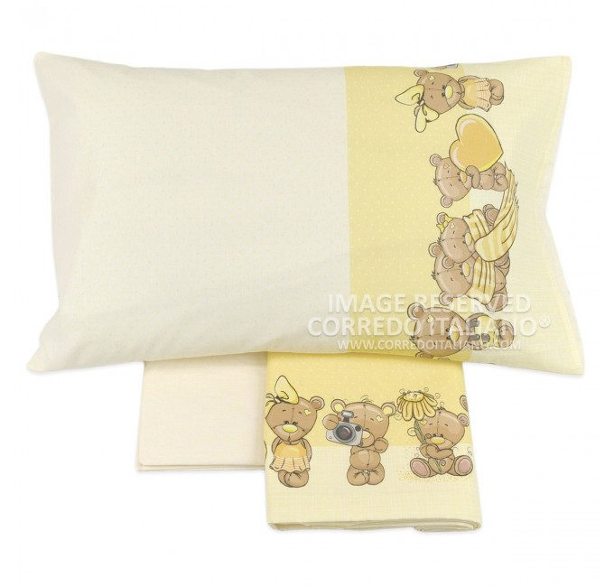 SWEET DREAMS - cot bed sheet set flannel MI016GG