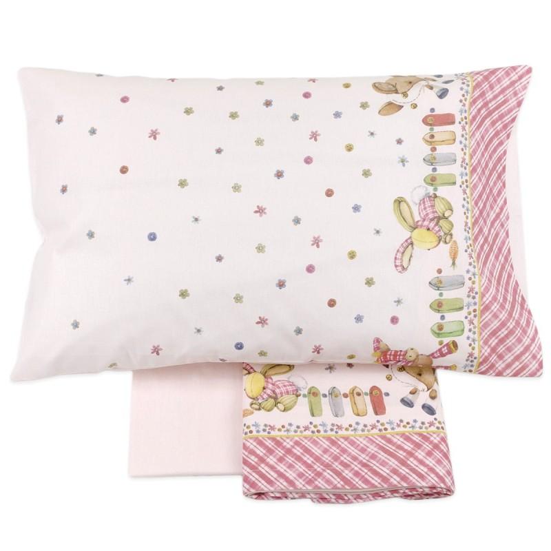 Cot bed sheet set flannel cotton art. MI018R