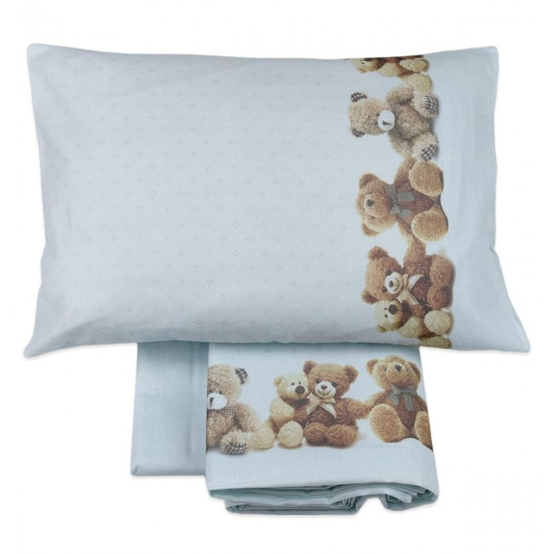 Cot bed sheet set flannel MI005AZ
