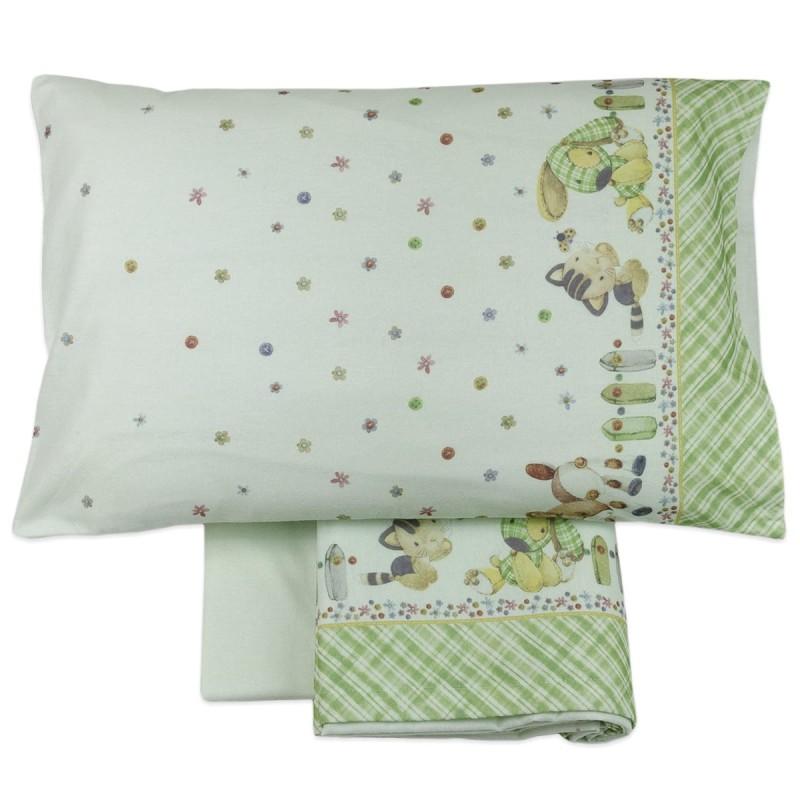 Cot bed sheet set flannel MI018VV
