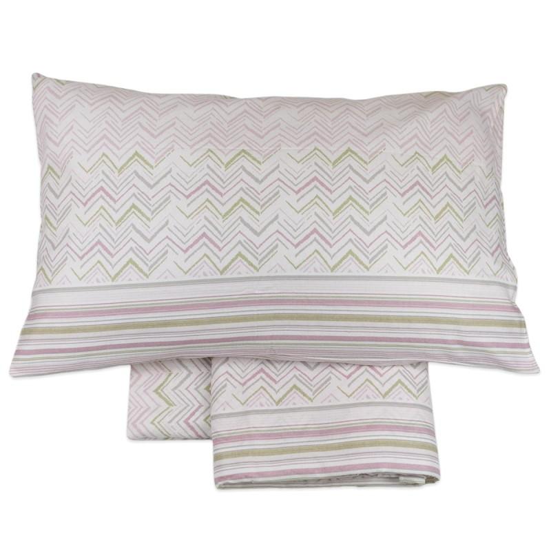 Alaska - flannel three quarter bed sheet set
