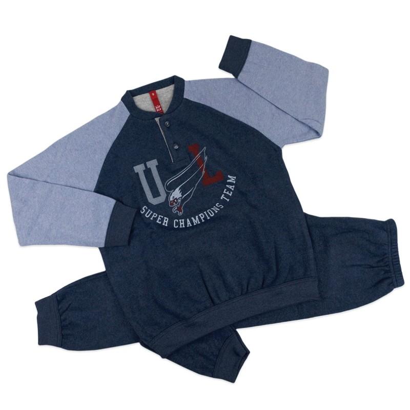 Winter pajamas for boys art. 4742
