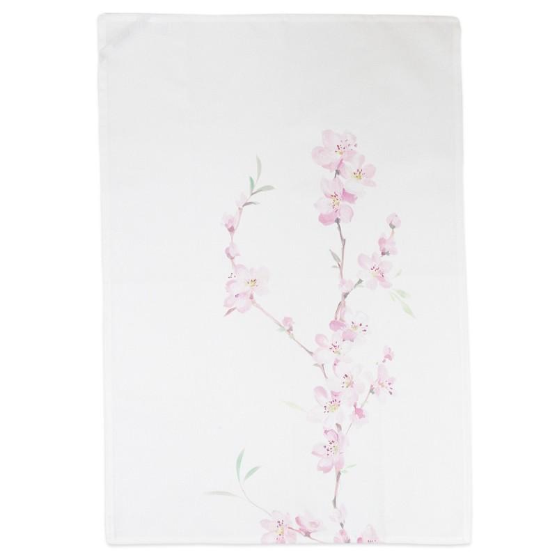 April - Vallesusa cotton dish towel with digital print