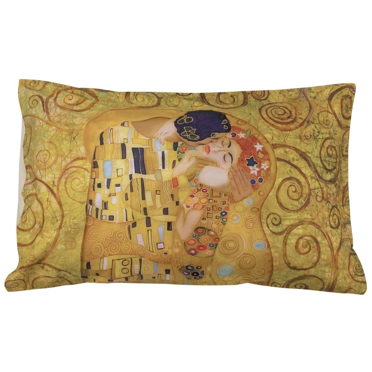 Federa Cuscino Il Bacio Di Klimt In Stampa Digitale