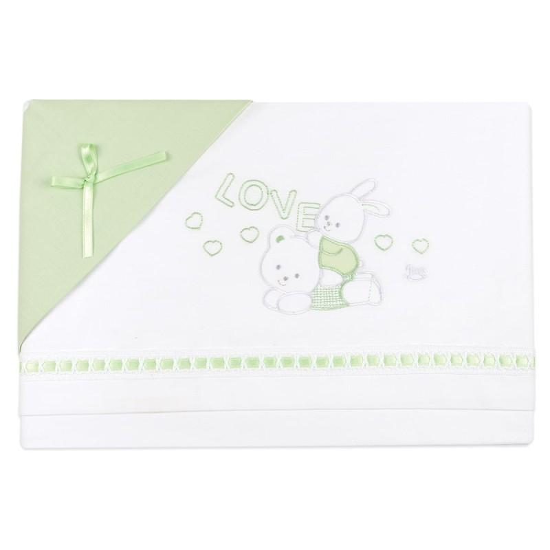 Cradle sheet set Mio Piccolo art. 771V