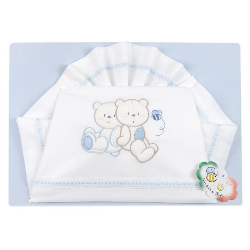 Cradle bed sheet set art. 03151AZ