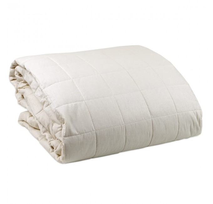Report - double bed quilted bedspread Corredo Italiano® 260x265 cm