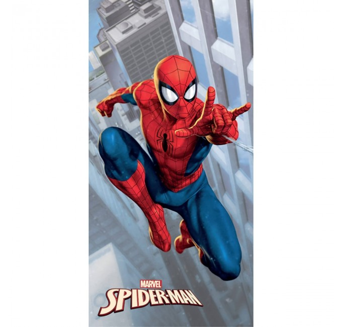 Spiderman - telo mare in spugna fastdry SPI1596