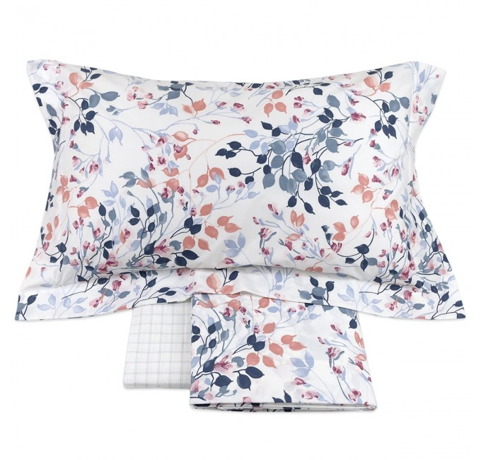 Edra - percale cottone double size bed Gabel sheet set