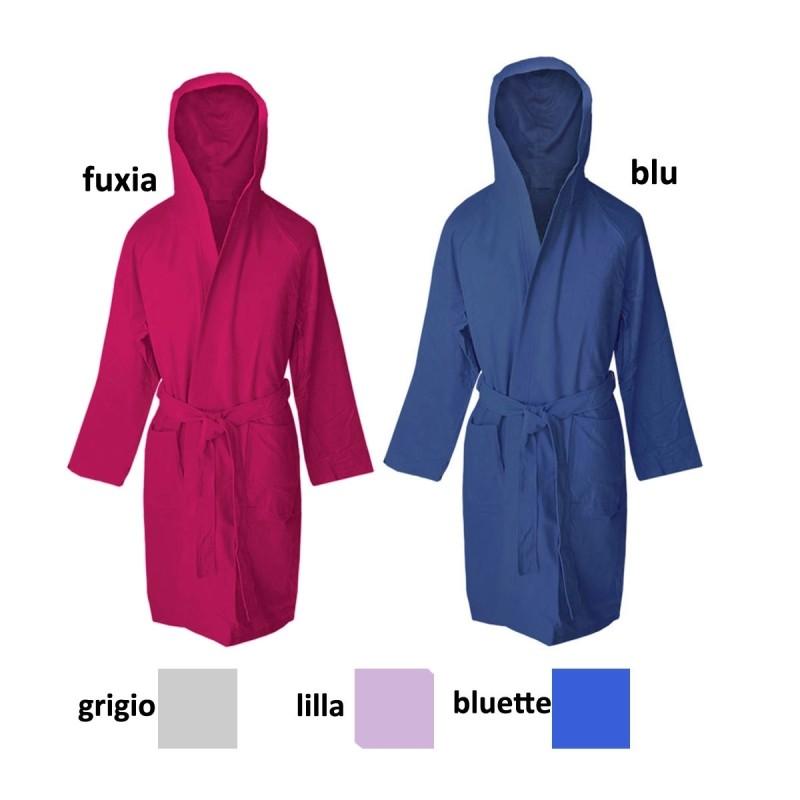 Hi-tech - bathrobe travel in microfiber