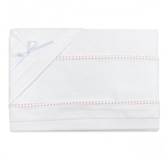 Cradle bed sheet to embroider art. CI1305PQR