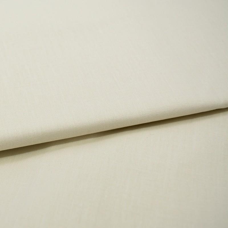 Tessuto a metro in misto lino altezza 270 cm - Avorio