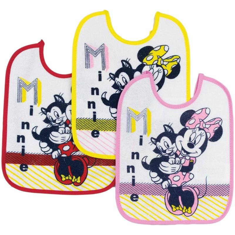 Minnie Mouse - 3 bibs set art. A9549A