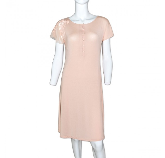 Noemi - nightdress with lace