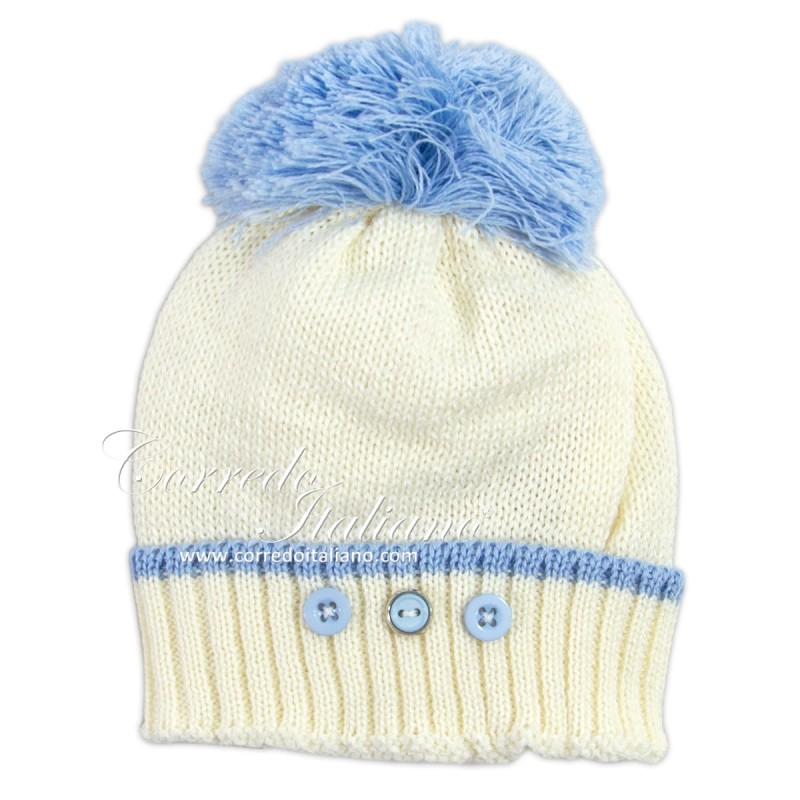 Hat in pure wool art. 1658PA