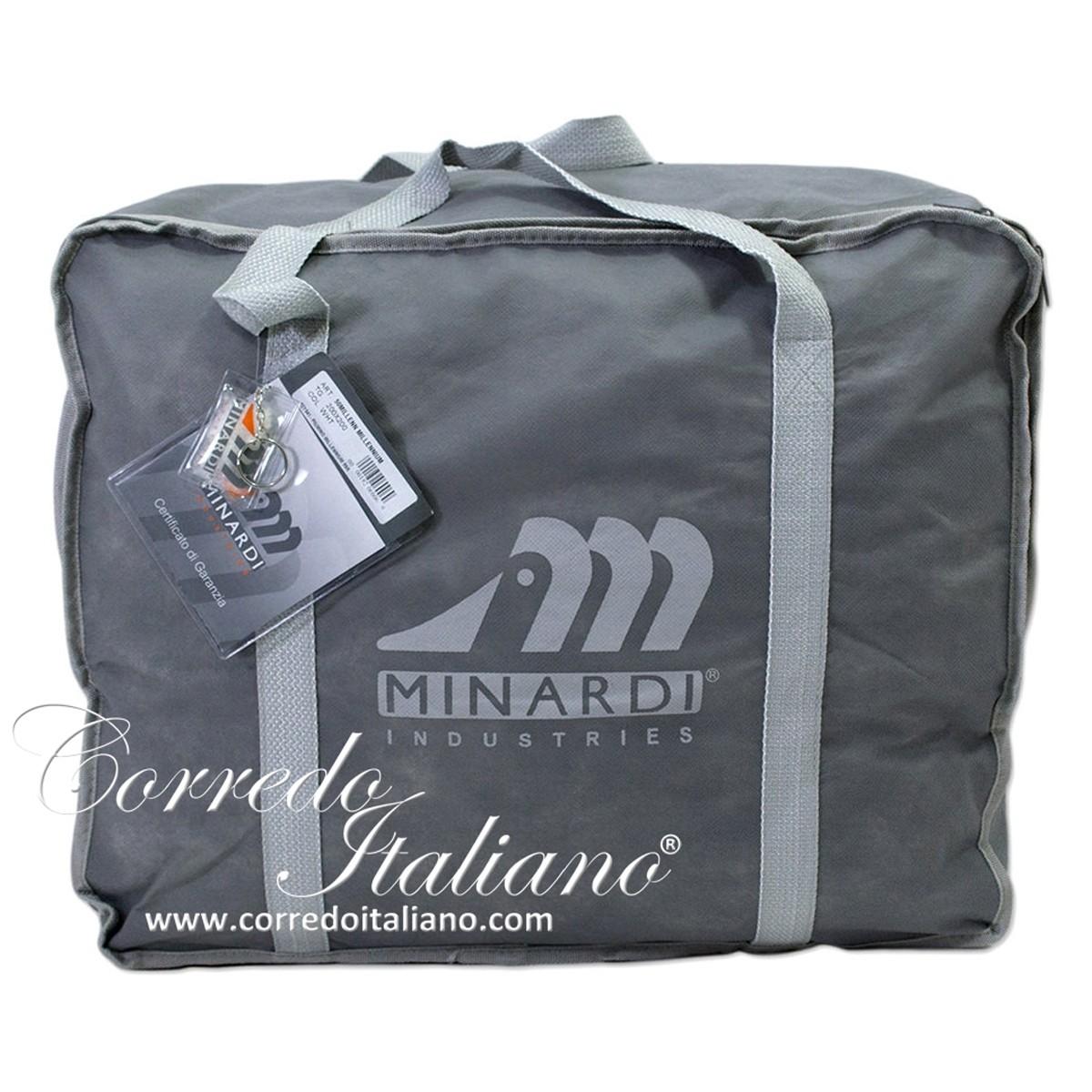 Minardi piumino d 39 oca matrimoniale 95 5 art millennium for Minardi piumini