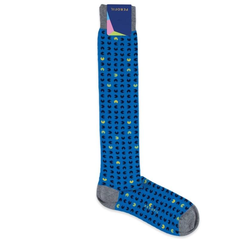 Long socks winter cotton Perofil art. PAL1205BLT