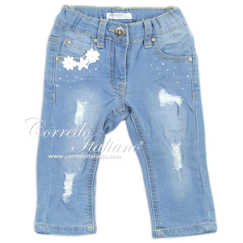 Jeans neonata 5 tasche art. 5S221