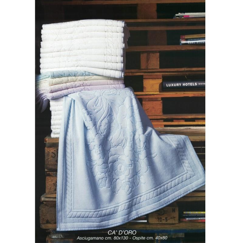 Ca' d'oro - set asciugamani spugna 6+6