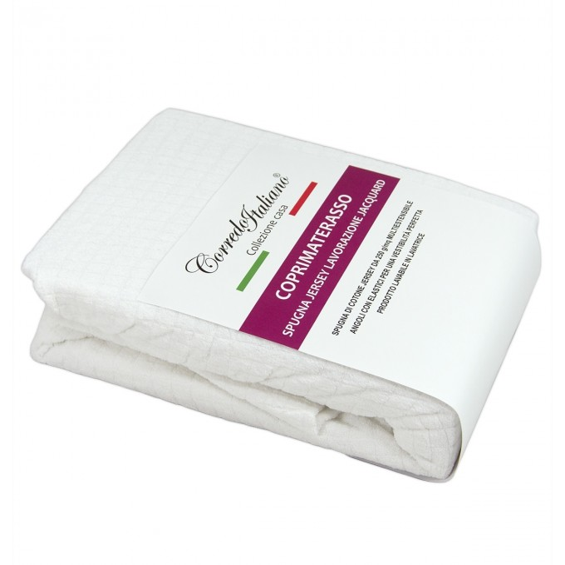 Mattress cover in elastic sponge art. CP30 - Various sizes