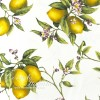 Sorrento - tablecloth with lemons various sizes: