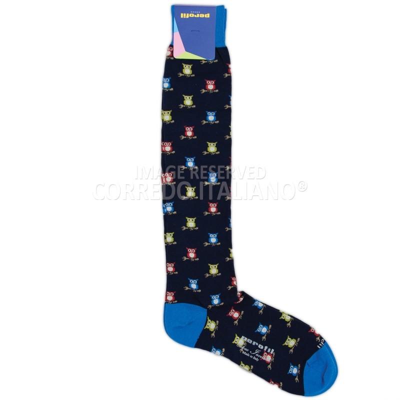 Long socks winter cotton art. PAL1086BL