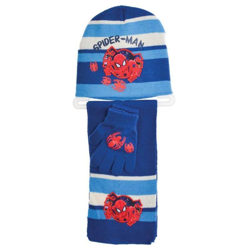 Set cappellino + sciarpa + guanti art. HQ4119BL