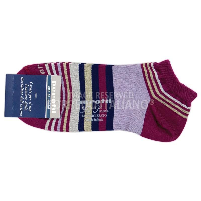 Sneaker short socks art A3844 - Hyacinth