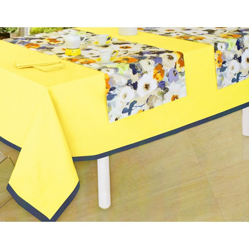 Latoya - tablecoth with napkins x12