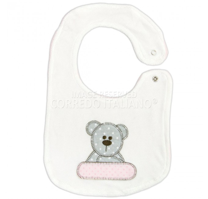 Bib in pure cotton art. SG103R