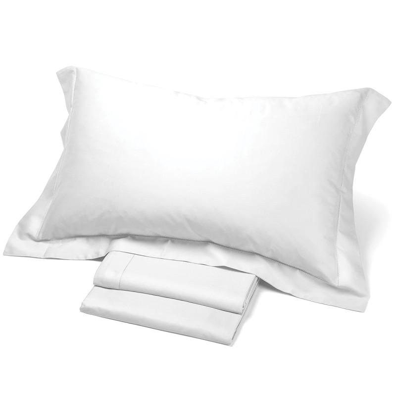 Satin - set lenzuola in raso di puro cotone con O.G.