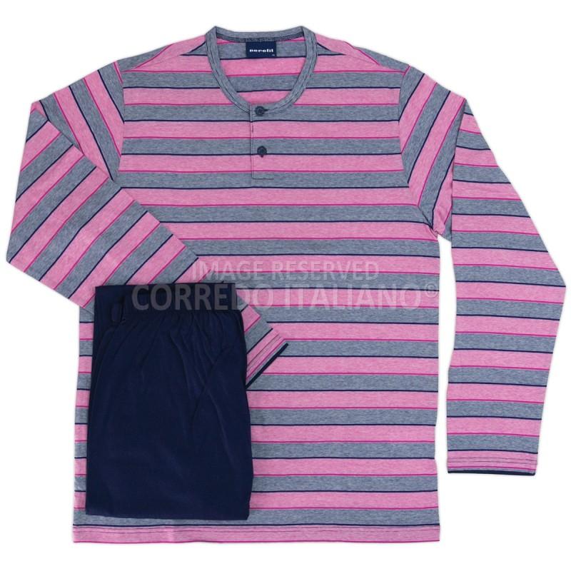 Maratea - pigiama cotone lungo