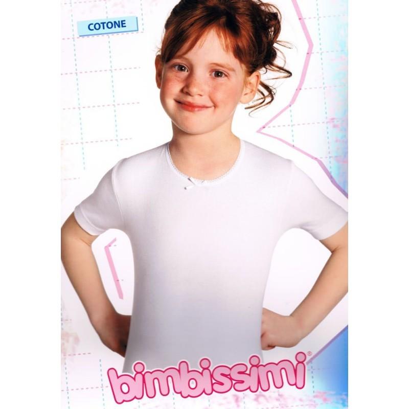 Maglietta puro cotone bambina art. TM61B