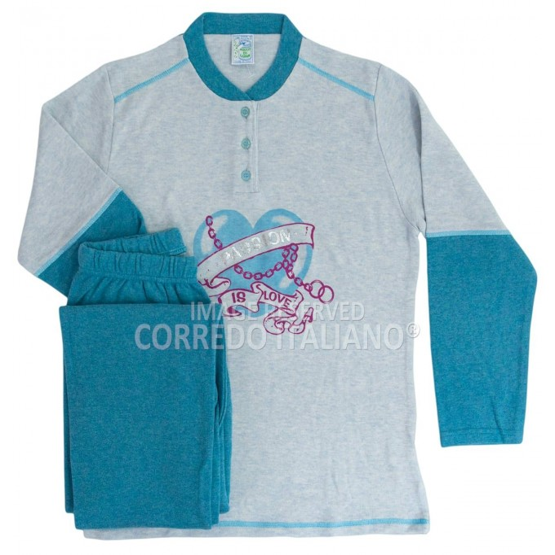Winter pajamas for girls art. 4743BL
