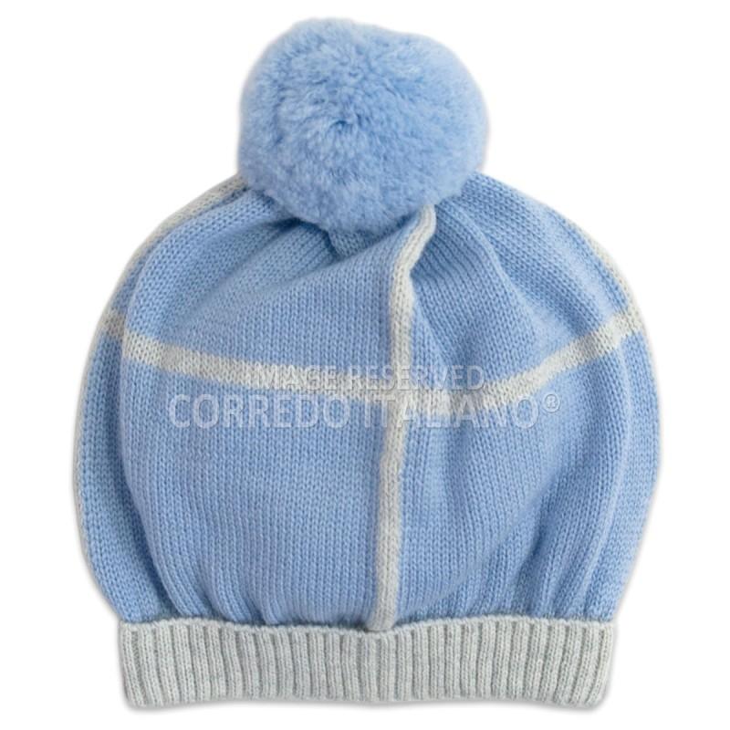 Cappellino in pura lana art. AL71