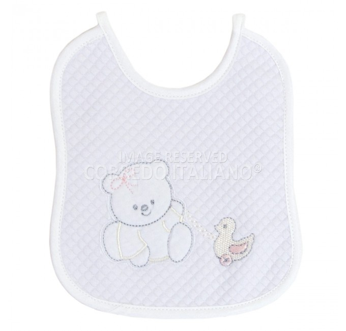 Bib in pure cotton art. CI1342