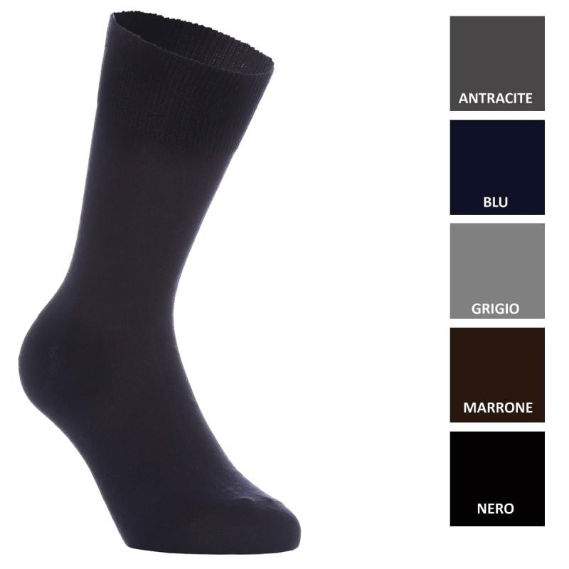 Lancaster - calza corta in lana rasata