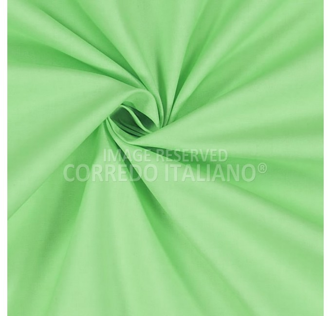 Pure cotton fabric height 300 cm - GREEN