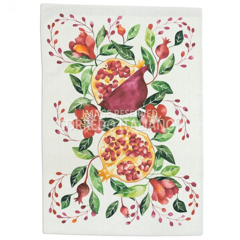 Pomegranates - christmas Dishtowels 50x75 cm