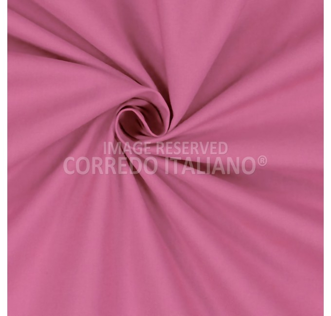 Pure cotton fabric height 300 cm - Fuxia