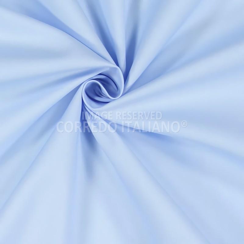 Tessuto in puro cotone altezza 300 cm - Cielo