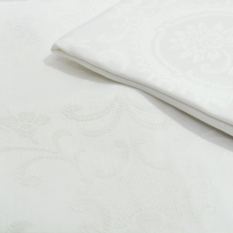 Capri - Set 2 sottofedere puro cotone damascate