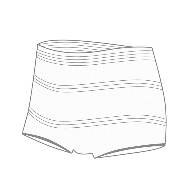Set 3 coulotte monouso in tessuto non tessuto