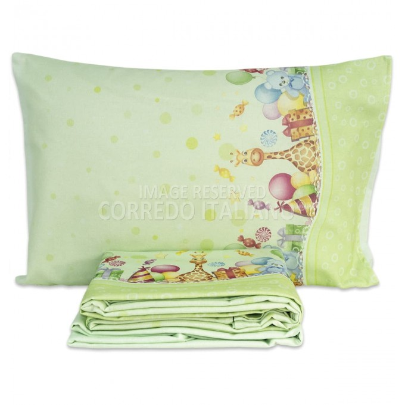 Cot bed sheet set flannel cotton art. MI007VV