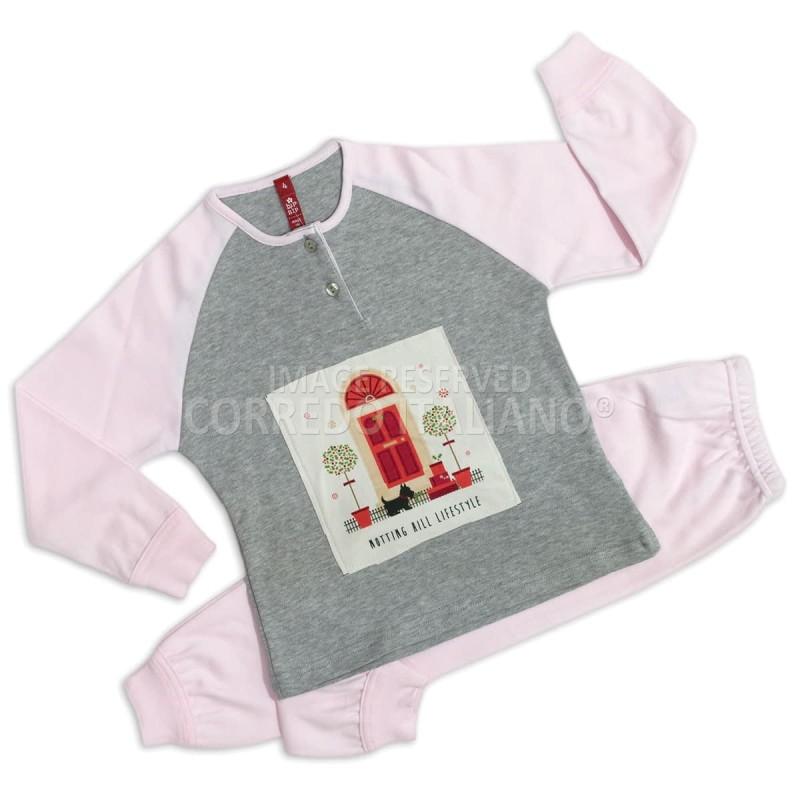 Winter pajamas for girls art. 6212PNK